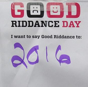 Good Riddance 2016